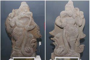 Bảo vật Chăm đất Bình Định - Kỳ 3: Tượng chim thần Garuda với phong cách tháp Mẫm
