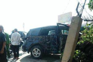 Vụ tông xe 7 chỗ tại Thanh Hóa: Tạm giữ tài xế xe khách