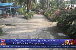 Campuchia đón gần 1 triệu lượt du khách dịp Tết Nguyên đán