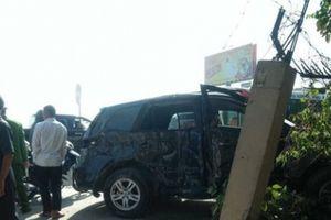 Thanh Hóa: Xe biển xanh vừa sửa xong thì xảy ra tai nạn