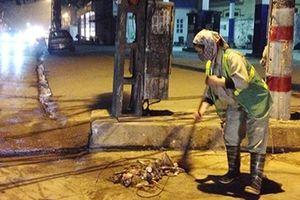 Giao thừa của những người làm sạch đường phố