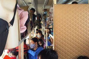 Bắt xe khách 40 chỗ 'nhồi nhét' tới 72 người