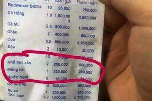 Nha Trang: Ăn một đĩa mùng tơi, du khách bị 'chặt chém' 250.000 đồng