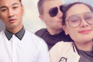 Vợ cũ MC Thành Trung- ca sĩ Thu Phượng khoe ảnh tình tứ bên bạn trai Tây