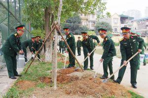 Các đơn vị phát động 'Tết trồng cây đời đời nhớ ơn Bác Hồ'