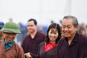 Phó Thủ tướng Thường trực Trương Hòa Bình dự Lễ hội Tịch điền