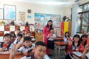 Học sinh hào hứng với những tiết học đầu năm