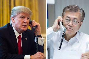 Tổng thống Mỹ - Hàn điện đàm trước hội nghị thượng đỉnh Mỹ - Triều