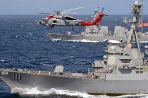 Mỹ lại điều tàu chiến đến biển Đông