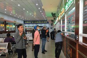 Cháy vé xe khách Đà Nẵng vào các tỉnh phía Nam