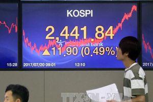 Chứng khoán châu Á phần lớn tăng điểm trong phiên ngày 11/2