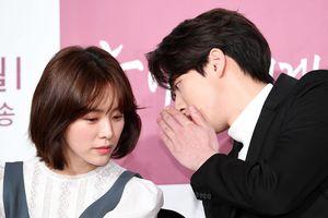 Họp báo 'Dazzling': Độ trẻ đẹp và chiều cao gây 'sốt' của cặp đôi hơn kém 12 tuổi Han Ji Min - Nam Joo Hyuk