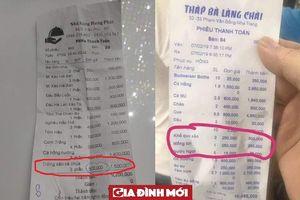 'Sốc' với đĩa trứng xào cà chua nửa triệu, rau mồng tơi 250.000 đồng/đĩa ở Nha Trang