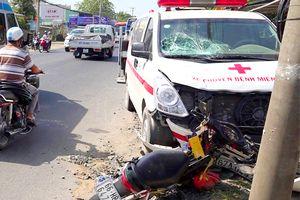 Thai phụ bị mất con do va chạm giao thông