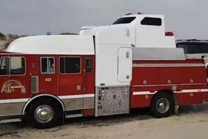 'Ngôi nhà di động' độc đáo được tạo nên từ xe cứu hỏa