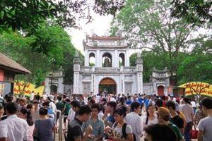 Hà Nội đón trên 500.000 lượt khách trong 9 ngày nghỉ Tết Nguyên đán