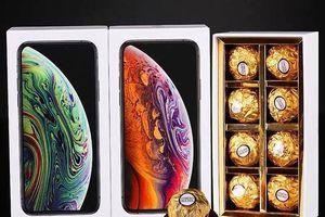Iphone X socola hút hàng trước ngày lễ tình nhân
