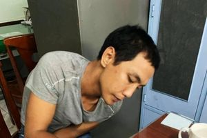 Thanh niên 'đá xế' bị tóm sau 2 giờ đồng hồ