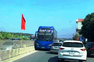 Tước giấy phép tài xế xe khách đi ngược chiều trên QL1A