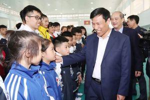 Bộ trưởng Nguyễn Ngọc Thiện: 'Bóng đá hãy phấn đấu cho mục tiêu vô địch SEA Games 30'