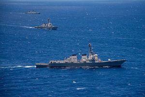 Mỹ lại điều 2 tàu chiến ra biển Đông