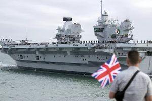 Dàn chiến hạm khủng của Mỹ - Anh đổ xô tới Biển Đông, Trung Quốc 'nổi đóa'