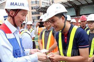 Tuyến metro Bến Thành - Suối Tiên hoàn thành cuối năm 2020