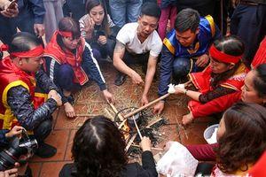 Lễ hội thổi lửa nấu cơm thi ở làng Thị Cấm