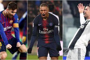 Cuộc đua Giày vàng 2019: CR7 và Mbappe 'đe dọa' Messi