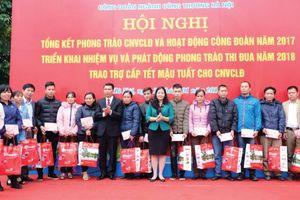 Công đoàn ngành Công Thương Hà Nội: Niềm vui 'lo Tết'
