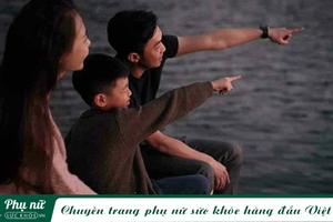'Tan chảy' với bức ảnh gia đình 3 người hạnh phúc của Cường Đô la - Đàm Thu Trang và Subeo