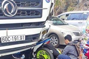 Lâm Đồng: Phượt thủ đi xe máy tông trực diện ô tô ngược chiều