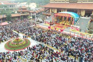 Khai mạc Lễ hội Xuân chùa Ba Vàng năm 2019
