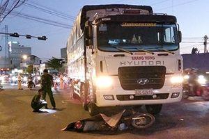 Xe tải va chạm xe máy, một người đàn ông tử vong tại chỗ