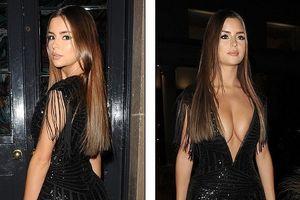 'Bông hồng' Demi Rose nóng bỏng hút mắt khi tham dự tiệc tối ở London