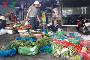 Đà Nẵng: Thị trường thực phẩm, rau quả ổn định sau Tết