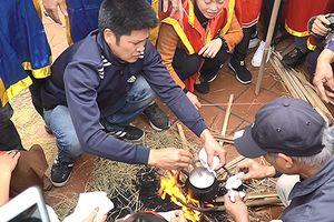 Độc đáo lễ hội kéo lửa thổi cơm tại đình làng Thị Cấm