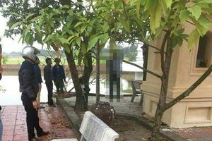 Hải Dương: Bàng hoàng phát hiện người đàn ông treo cổ tại sân chùa