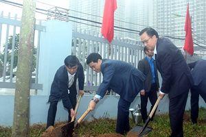 Chủ tịch UBND TP Hà Nội dự Lễ phát động 'Tết trồng cây đời đời nhớ ơn Bác Hồ' tại quận Nam Từ Liêm