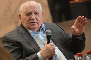 Cựu Tổng thống Liên Xô Gorbachev 'lật tẩy' việc Mỹ rút khỏi Hiệp ước INF