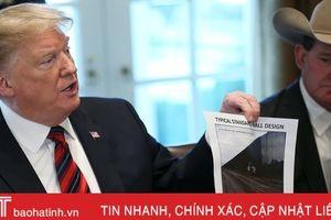 Tổng thống Trump tuyên bố có 23 tỷ USD cho vấn đề an ninh biên giới