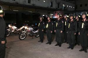 Những người lính cơ động giữ Tết bình yên ở thành phố mang tên Bác