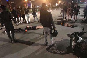 Người chạy xe ôm và 2 chân dài làm đêm gặp nạn vì va chạm ô tô ở Thái Nguyên