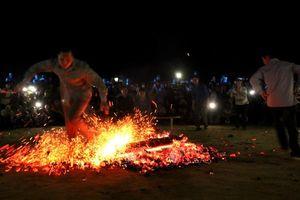 Độc đáo Lễ hội nhảy lửa của người Dao Đỏ ở Tuyên Quang