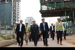 Dự án cầu cạn Mai Dịch - Nam Thăng Long ra quân đầu năm mới
