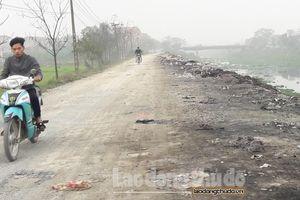 Xã Tiền Phong, Thường Tín: Rác thải 'bức tử' hai bờ sông Nhuệ