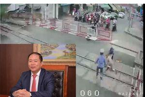 Chủ tịch VNR khen ngợi hai 'người hùng' gác chắn xả thân cứu người