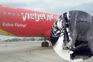 Máy bay bị bục lốp sau khi hạ cánh xuống sân bay Tân Sơn Nhất, Vietjet Air nói gì?