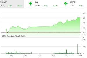 Phiên chiều 13/2: Tiếp tục bay cao, VN-Index chinh phục mốc 945 điểm