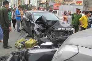 Diễn biến vụ tai nạn giao thông liên hoàn ở đường Trường Chinh (gần Ngã Tư Sở)